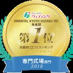 【みんなのウェディング】2017年ランキング受賞記念Fair!