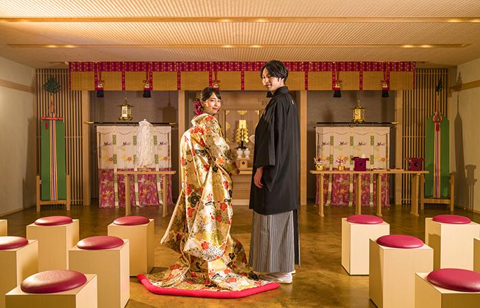 【神前式後のアフターパーティもOK】館内に神殿も!和婚フェア《平日開催》